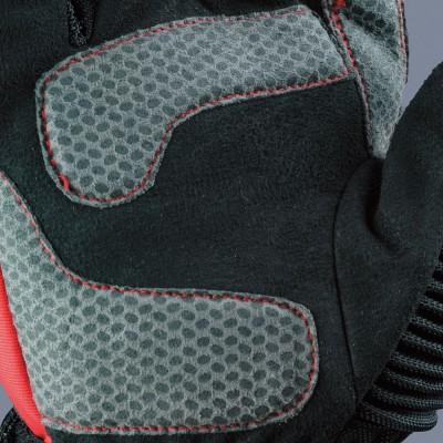 平側には濡れても滑りにくい素材を装着し、グリップ力をアップ。