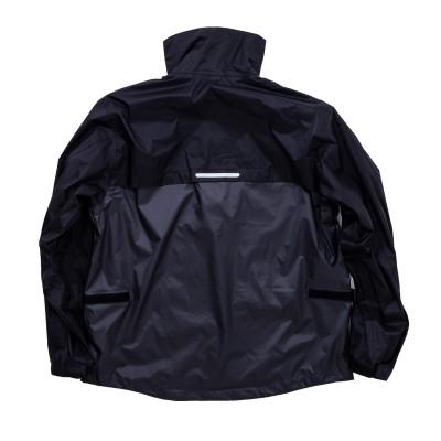 D. ガンメタ/ブラック - BACK